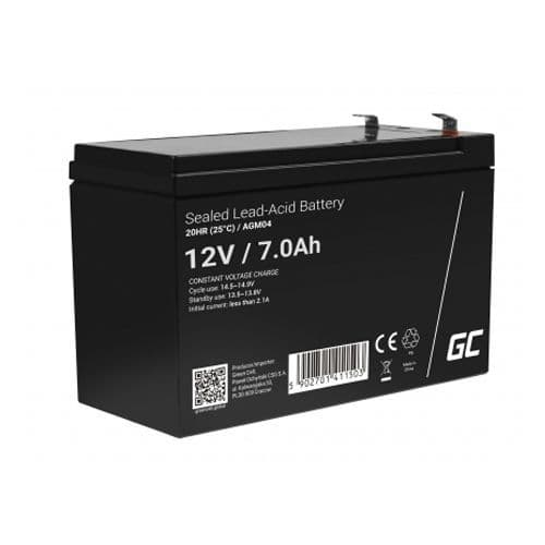 12V 7AH Lead Battery