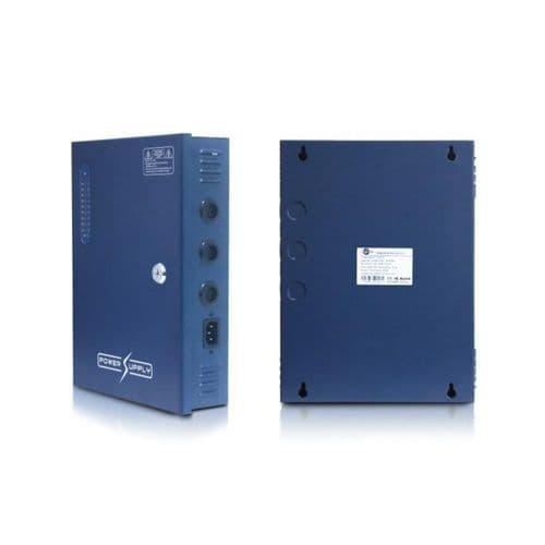 18 Way D121832 12V DC output, 32A Blue Box