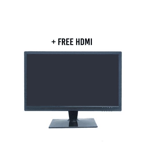 "21"" LED Monitor LED-HDMI2106 Used for Medium CCTV Deployment (1x VGA 1X HDMI 1X BNC) Builtin Speaker"