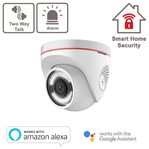2MP C4W Outdoor Smart Wi-Fi Camera With Two Way Audio ¦ Strobe Light & Sound