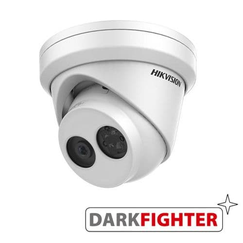 2MP DS-2CD2325FWD-I Dark Fighter Hikvision  fixed lens ultra-low light IP turret camera with IR