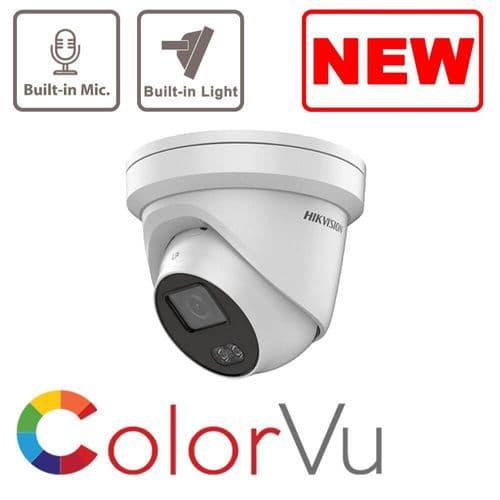 2MP DS-2CD2327G1-LU ColorVu Fixed Turret Network Camera