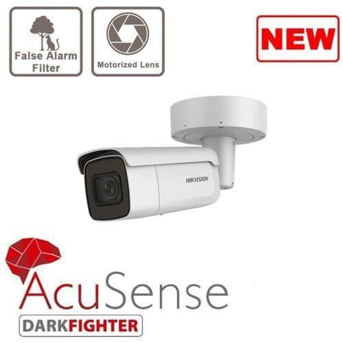 2MP DS-2CD2626G2-IZS AcuSense Motorized Varifocal Bullet IP Camera