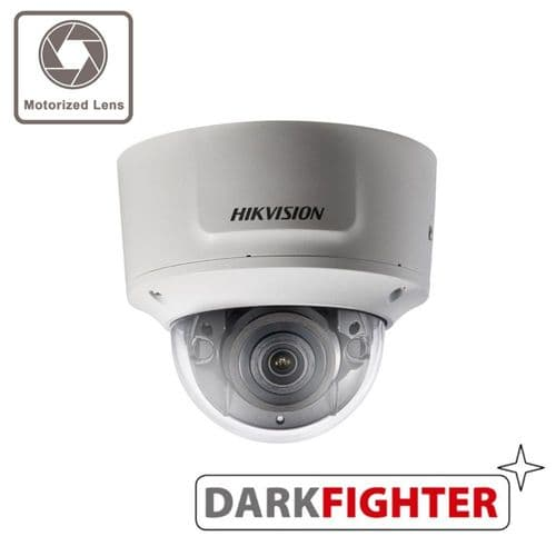 2MP DS-2CD2725FWD-IZS Hikvision motorized varifocal lens dome camera with IR