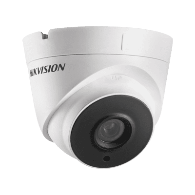 2MP DS-2CE56D8T-IT3E Hikvision Ultra Low Light Poc 2.8mm Fixed Lens Turret Dome Camera, 40m Ir