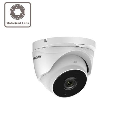 2MP DS-2CE56D8T-IT3ZE Hikvision Ultra Low Light Poc 2.8-12mm Vari-Focal Lens Dome Camera, 40m Ir