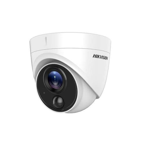 2MP DS-2CE71D8T-PIRL Hikvision HD-TVI Ultra Low-Light PIR 2.8MM Fixed Lens Turret Camera, 20M IR