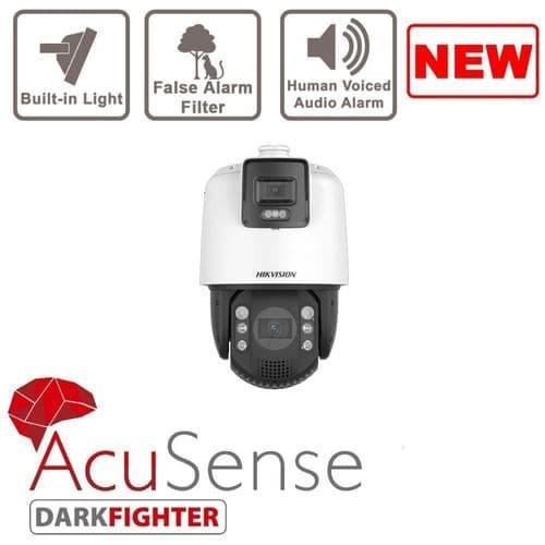 2MP DS-2SE7C124IW-AE(32X/4)(S5) Hikvision Acusense Smart-Linkage 32x PTZ + 4mm Panoramic