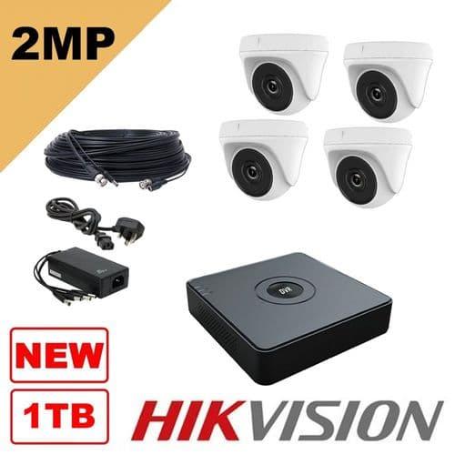 2MP THC T120 4 Camera Kit 1080P (T104Q-B/2T)