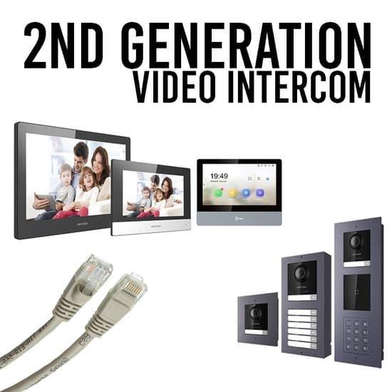 2nd Generation IP Modular Video Intercom
