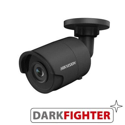 4MP DS-2CD2045FWD-I IR Fixed Bullet Network Camera BLACK