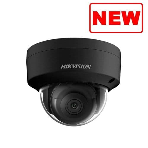 4MP DS-2CD2143G0-IS /BLACK Hikvision fixed lens dome camera with IR & audio/alarm