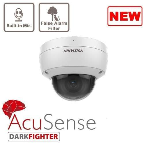 4MP DS-2CD2146G2-ISU AcuSense Fixed Dome Network Camera
