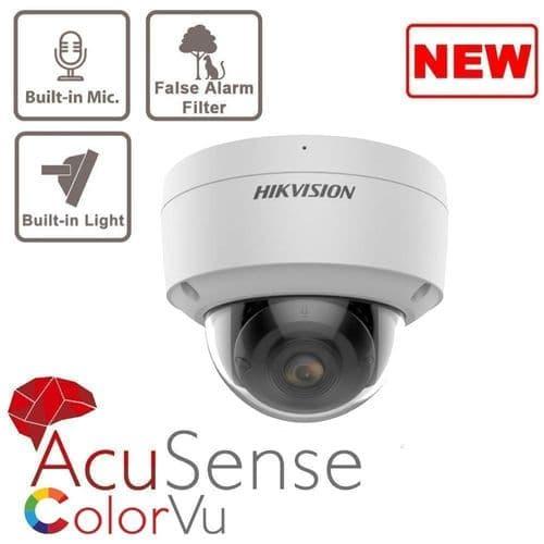 4MP DS-2CD2147G2-SU  IP Colorvu Acusense Dome 2.8mm