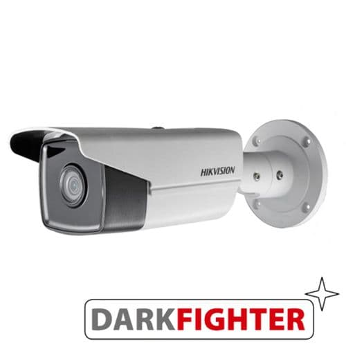 4MP DS-2CD2T45FWD-I5 Hikvision Fixed Lens Darkfighter 50M IR POE Onvif Bullet IP Camera