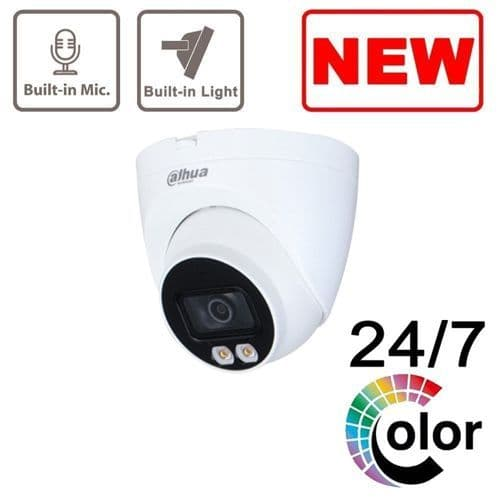 4MP IPC-HDW2439T-AS-LED-S2 Full Colour Fixed-focal Eyeball Network Camera