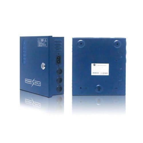 4Way D120405 12V DC output, 5A Blue Box