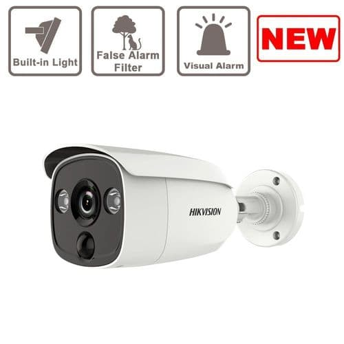 5MP DS-2CE12H0T-PIRL Outdoor Bullet Camera PIR Hikvision