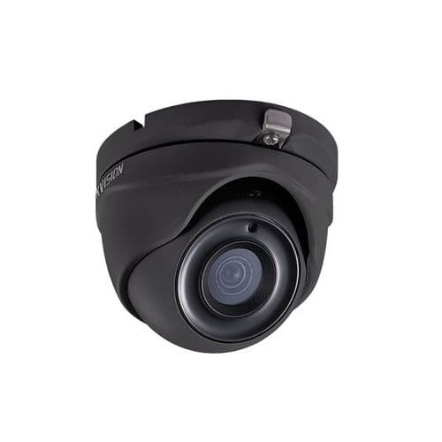 5MP DS-2CE56H0T-ITME/B Black Hikvision Poc 2.8mm Fixed Lens Dome Camera, 20m Ir