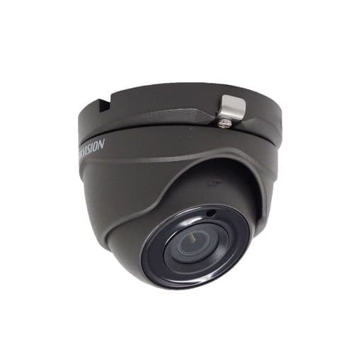5MP DS-2CE56H0T-ITME Grey Hikvision Poc 2.8mm Fixed Lens Dome Camera, 20m Ir
