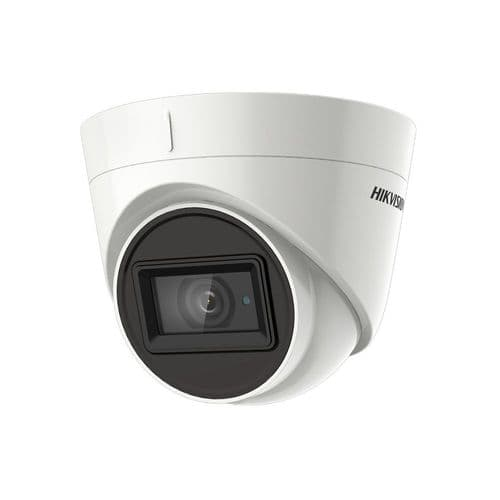 5MP DS-2CE78H8T-IT3F Hikvision Ultra Low Light HD-TVI 2.8mm Fixed Lens Turret Camera, 60m IR, IP67