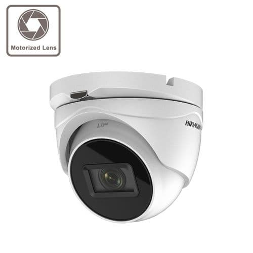 5MP DS-2CE79H8T-AIT3ZF Hikvision Ultra Low Light Vari-focal Lens Turret 60M IR