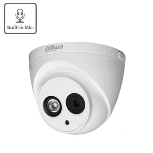 5MP  HAC-HDW1500TL-A-0280  HDCVI IR (30m) Eyeball Dome, 2.8mm Lens, Built in mic
