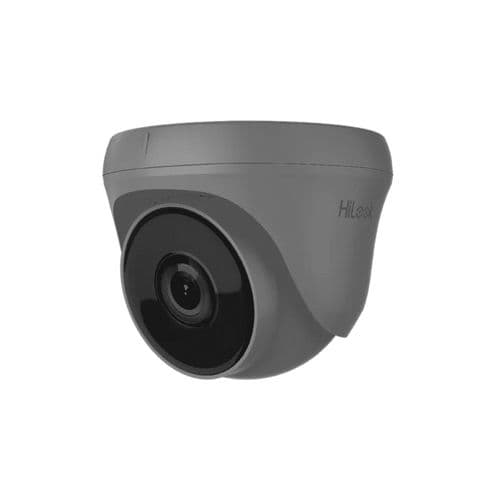 5MP THC-T250 Grey HiLook by Hikvision HD-TVI 5MP Turret Camera with 40M EXIR Night Vision