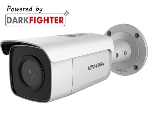 6MP DS-2CD2T65G1-I5  IR Hikvision Fixed Bullet Network Camera 4mm