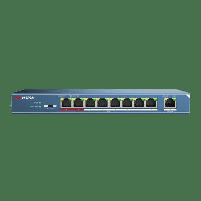 8-port Hikvision 100Mbps unmanaged PoE switch DS-3E0109P-E (C)