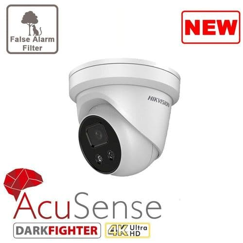 8MP DS-2CD2386G2-I AcuSense Turret Network Camera Hikvision