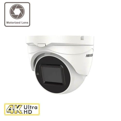 8MP DS-2CE79U1T-IT3ZF Motorised Zoom Turret Camera with 60M IR Hikvision