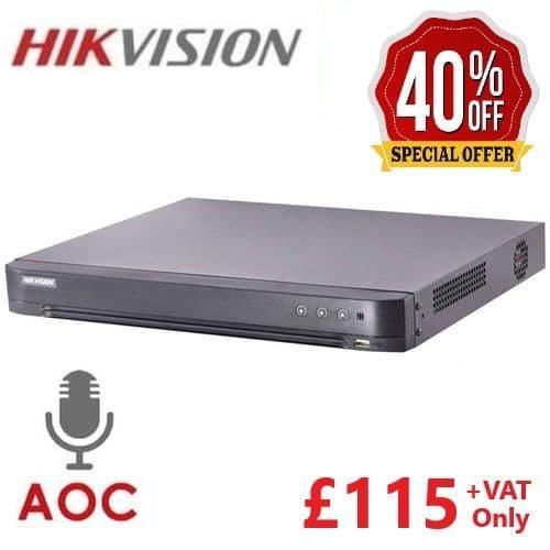 8MP DS-7208HUHI-K1 (S) Hikvision 8 channel Turbo 4.0 AOC
