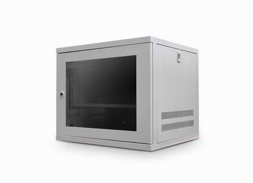 9U 450mm Deep Wall Cabinet - Grey CAB-W9U-EL450G
