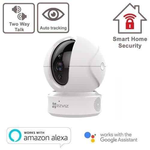 C6CN Full HD 1080p WiFi Indoor Security Camera  EZVIZ Smart Wi-Fi Pan & Tilt 360°