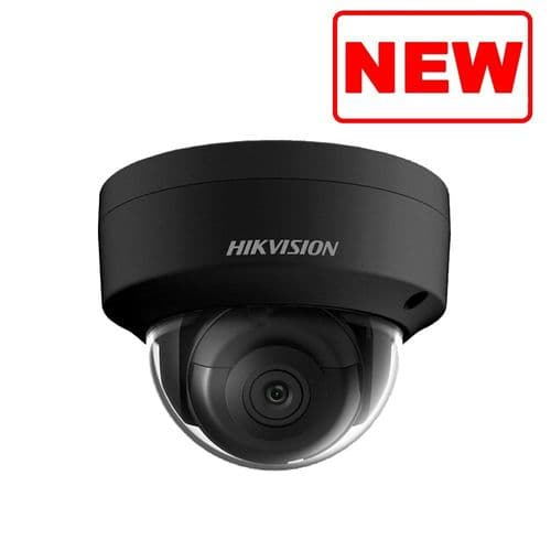 New 6MP DS-2CD2163G0-I  BLACK Hikvision Dome Network Camera