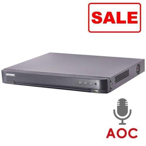 NEW 8MP DS-7208HTHI-K2 (S) Hikvision 8 channel TVI Turbo 4.0 AOC