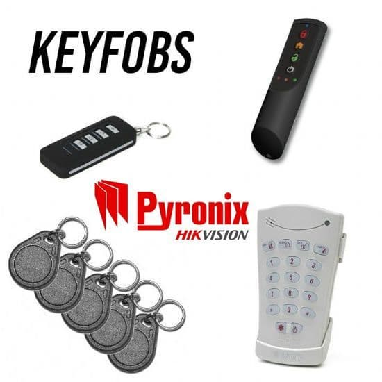 Pyronix Keyfobs, Keys and Tags