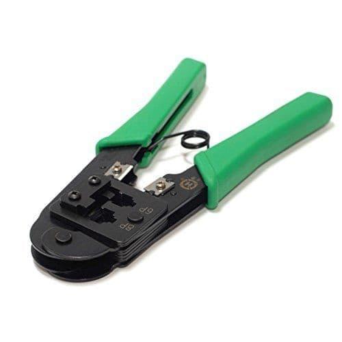 RJ45 / RJ11/12 Hand Crimping Tool (CAT 5/6E)