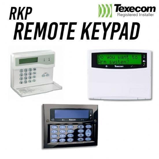 Texecom Keypads