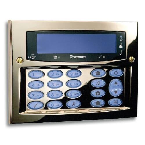 Texecom Premier Elite Polished Brass (Flush DBD-0122 / Surface DBD-0128)