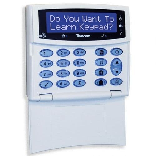Texecom Premier Elite Ricochet LCDLP-W Wireless Keypad (GCE-0001)