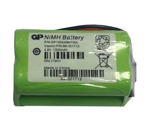 Visonic 4.8V 1300mAh Battery for Powermax Express and PowerMaster 10