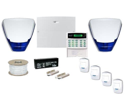 Wired Alarm Kit - 4 PIR
