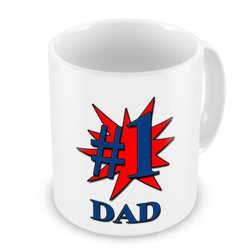 #1 Dad/Daddy/Grandad Novelty Gift Mug