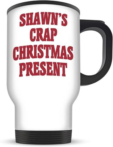 14oz Personalised Crap Christmas Present Novelty Gift Aluminium Travel Mug
