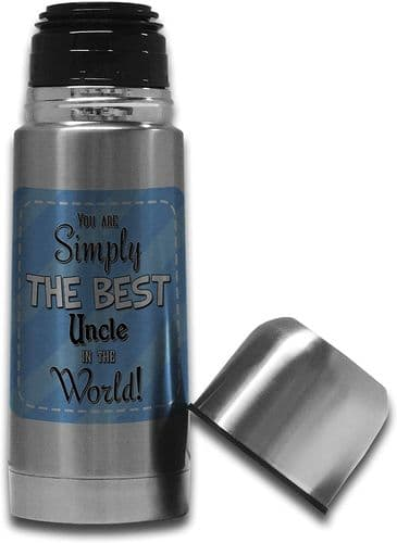 350ml You are Simply The Best (Male Relation) in The World Stainless Steel Thermos  Flask Bottle