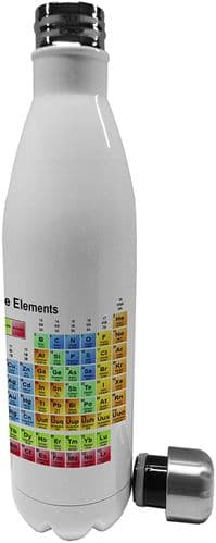 750ml Periodic Table of Elements - Stainless Steel Vacuum Insulated Water Bottle