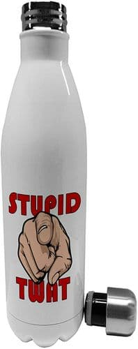 750ml Stupid Twat - Stainless Steel Vacuum Insulated Water Bottle