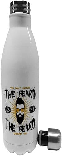 750ml You Don't Choose The Beard - Stainless Steel Vacuum Insulated Water Bottle